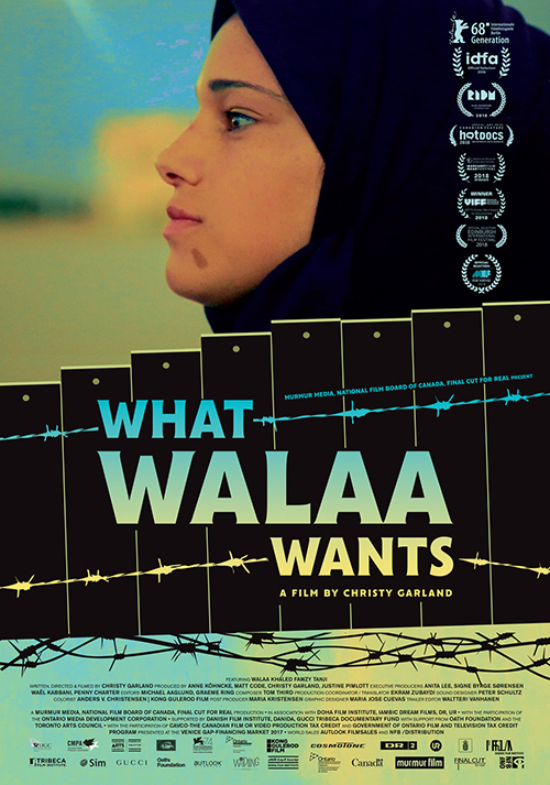 What Walaa Wants - Poster